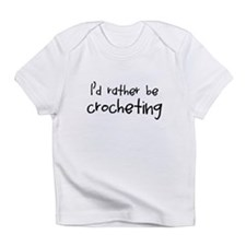 Crocheting Infant T-Shirt