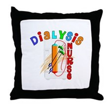 Dialysis Throw Pillow