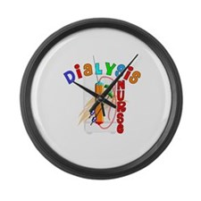 Dialysis Large Wall Clock