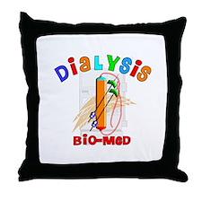 Dialysis Throw Pillow