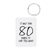 80 Looks Good Aluminum Photo Keychain