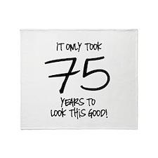 75 Looks Good Throw Blanket