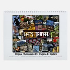Let's Travel - Travel Photography Wall Calendar