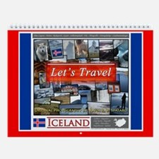 "Iceland ""Let's Travel"" Wall Calendar"