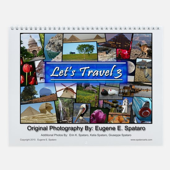 Let's Travel 3 -- Wall Calendar