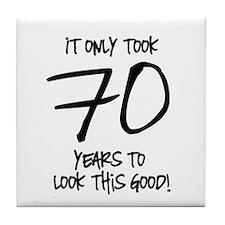 70 Looks Good Tile Coaster