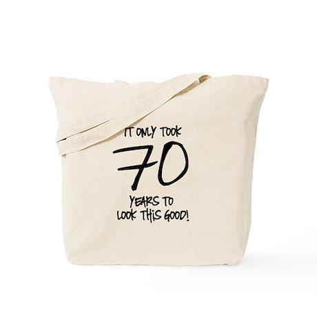 70 Looks Good Tote Bag