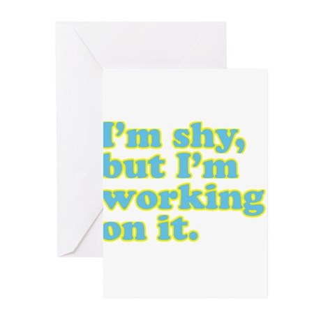 I'm shy, but... Greeting Cards (Pk of 10)