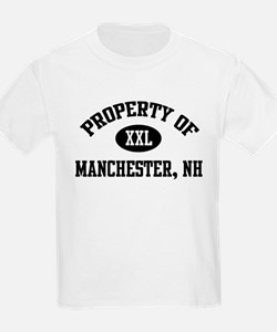 Property of Manchester Kids T-Shirt