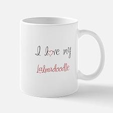 I Love My Labradoodle Mug
