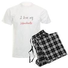 I Love My Labradoodle Pajamas