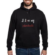 I Love My Labradoodle Hoodie