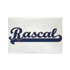 Rascal Sports Rectangle Magnet