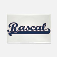 Rascal Sports Rectangle Magnet