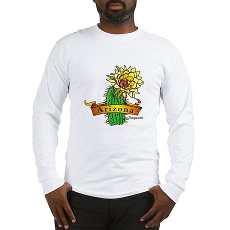 Arizona State Flower Long Sleeve T-Shirt