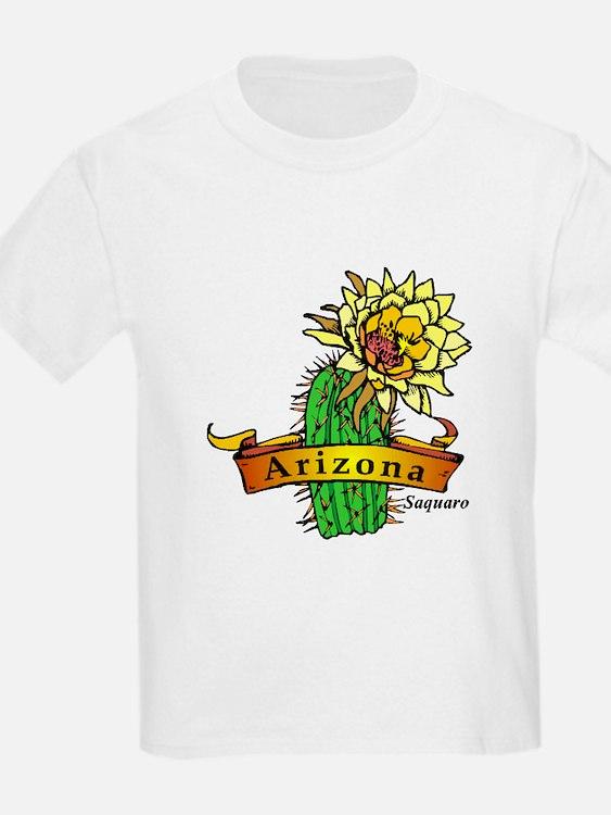 Arizona State Flower Kids T-Shirt