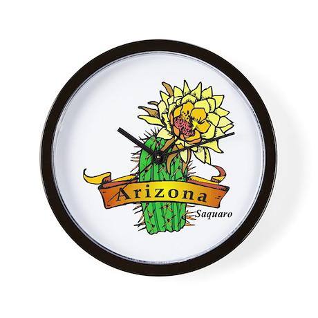 Arizona State Flower Wall Clock