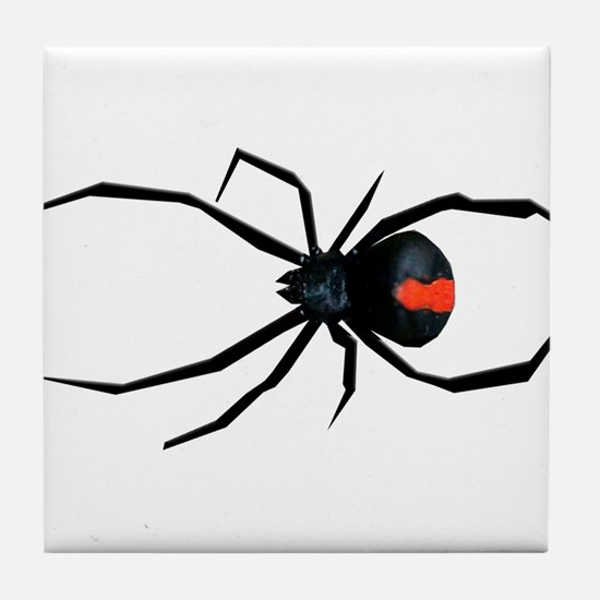 Redback Spider Tile Coaster