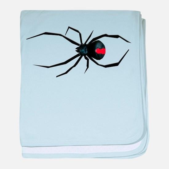 Redback Spider baby blanket