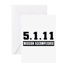 Mission Accomplished Greeting Card