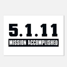 Mission Accomplished Postcards (Package of 8)