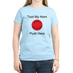 Fart Button Toot My Horn Ligh Women's Light T-Shir