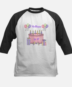 Personalized Birthday Girl Kids Baseball Jersey
