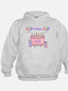 Personalized Birthday Girl Hoodie