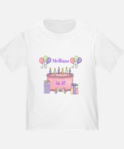 Personalized Birthday Girl T