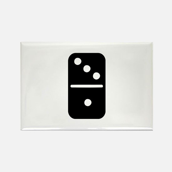 Domino Rectangle Magnet
