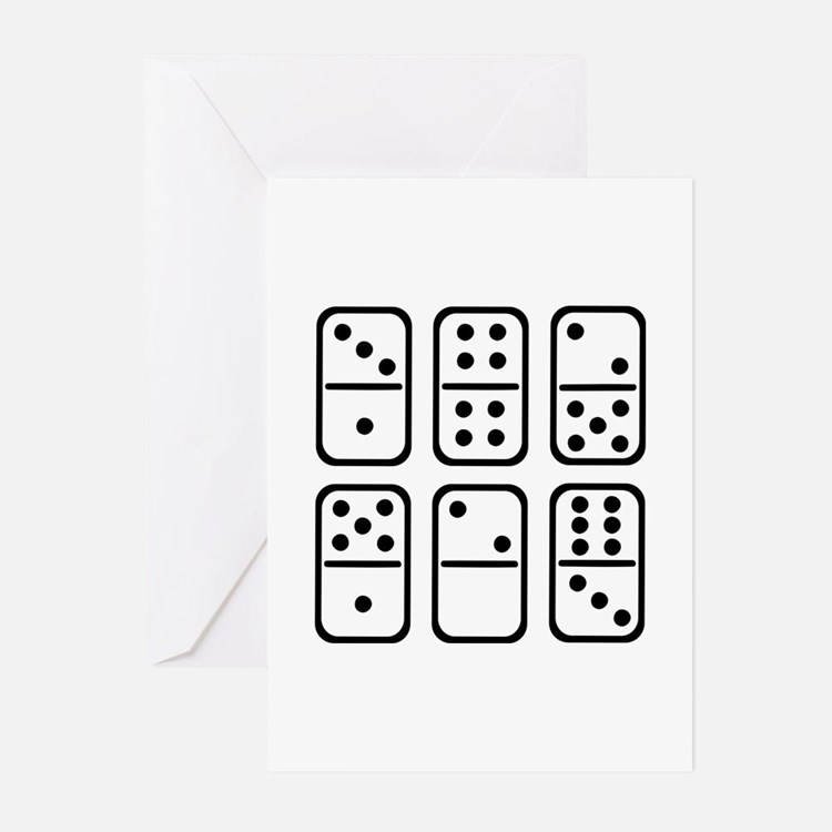 Dominos Greeting Cards (Pk of 20)