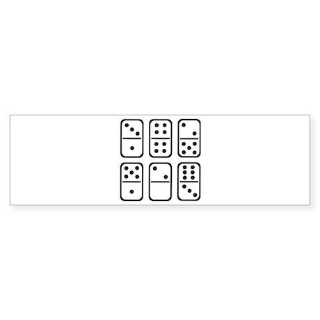 Dominos Sticker (Bumper)