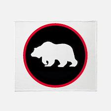 Grizzly Globe Throw Blanket