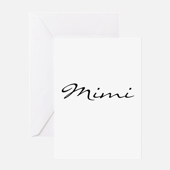 Mimi Simple Greeting Card