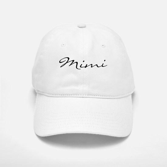 Mimi Simple Baseball Baseball Cap