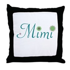Spring Mimi Throw Pillow