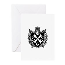 Cute Demolay Greeting Cards (Pk of 20)