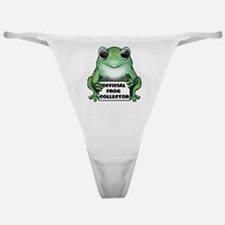 Frog Collector Classic Thong