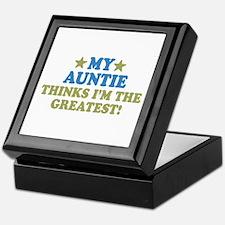 Greatest Auntie Keepsake Box
