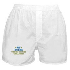 Greatest Bubbe Boxer Shorts