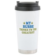 Greatest Bubbe Travel Mug