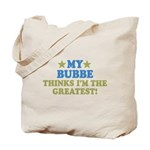 Greatest Bubbe Tote Bag
