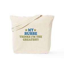Greatest Bubbe Tote Bag