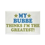 Greatest Bubbe Rectangle Magnet (100 pack)