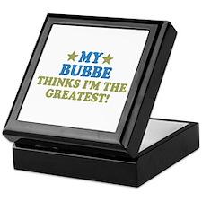 Greatest Bubbe Keepsake Box