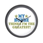 Greatest Bubbe Wall Clock