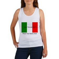 Personalized Flag Women's Tank Top