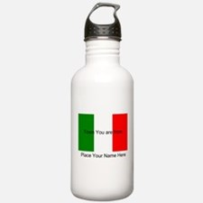 Personalized Flag Water Bottle