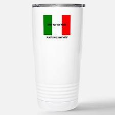 Personalized Flag Travel Mug