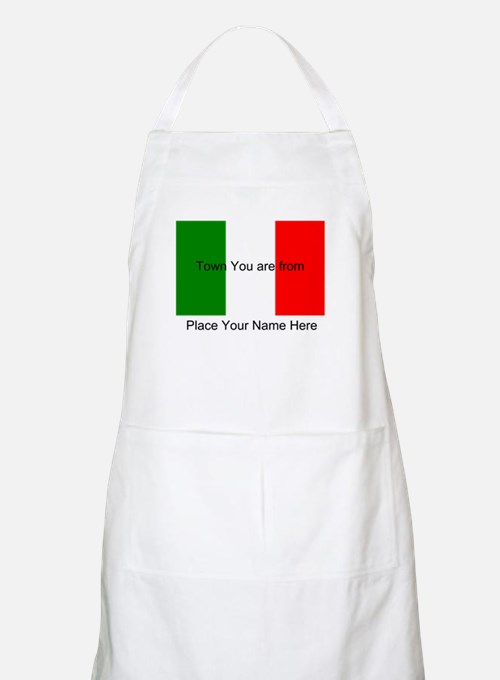 Personalized Flag Apron